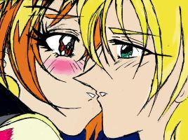 Lina and Gourry In Color by kanzaki083