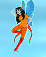 Vriska by candy-behemoth