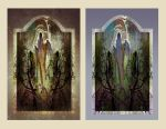 The Spirit in the Wood ~2 Versions by richardcgreen