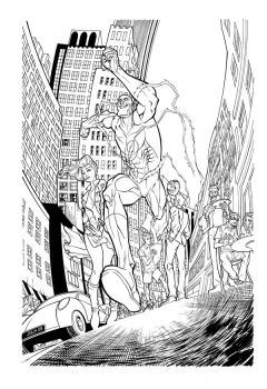 The Flash pre mag -inks by silent-jay