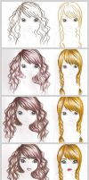 Hair and Skin Tutorial by funandcake