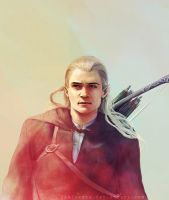 Legolas Greenleaf by iamjoanna