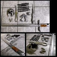 Weapons of Ezio by alsquall
