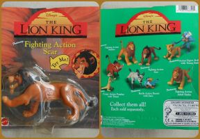 ( The Lion King ) Vintage Scar Figure NIB by KrazyKari