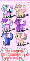 Flavored Adopts! + Recipes! OPEN. by vanillaadog