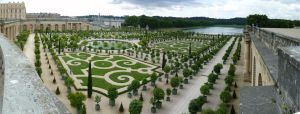 French gardens from the roof by ultimalitho