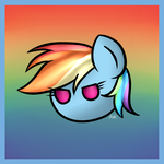 Rainbow Dash Ball by zarzox