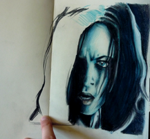Selene from Underworld by specialneeds0468