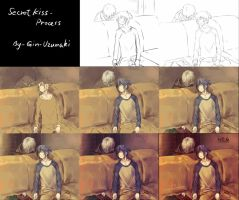 Secret kiss- Process by Gin-Uzumaki
