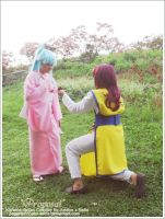 Kurama x Botan: Proposal by paganprincess-aeris