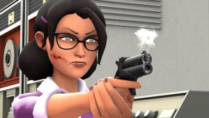 [SFM] Miss Pauling (Expiration Date Ver) by Deathy28