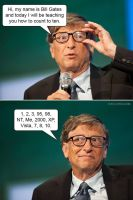 Learn to count bill gates by MacMachine95