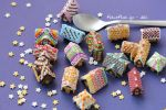 Many MIniature Gingerbread Houses and a Spoon by PetitPlat