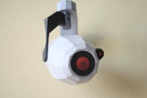 Portal Camera Papercraft by magicyio