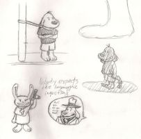 More Sam and Max Doodles by TheSunnyGuy