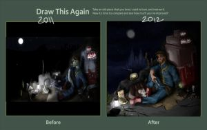 Draw this again: Fallout 3 by sliplol