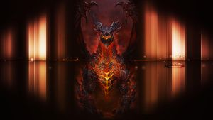 Deathwing Wallpaper Hearthstone (Alamuerte) by DuskMTWalker