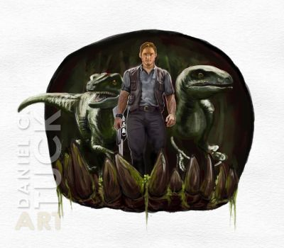 Chris Pratt - Dinosaur Trainer by dctuck