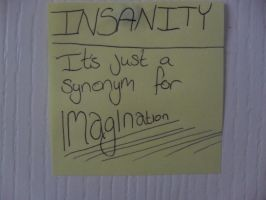 Insanity is just a synonym by ChloeRhiannonX