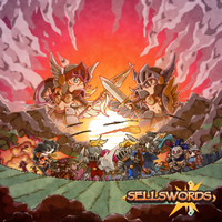 Sellswords cover (and logo) by FontesMakua