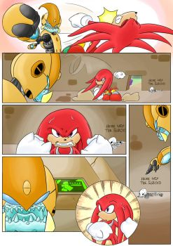 Knuckles: Skeletons in the Closet (Part 3: Page 3) by shamethedawg