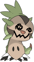 Mimikyu: Chespin by YoungsterJack