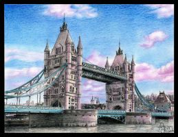 London Tower Bridge by JeSSanchez
