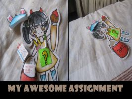 My awesome Assignment XD by Jenelim