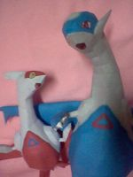 Latios and Latias2 by PrincessStacie