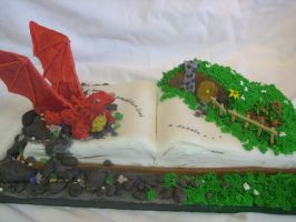The Hobbit Edible Book by nightingales-rose