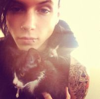 Andy And A Cat by isabella19