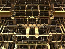 Pipes And Girders by AureliusCat