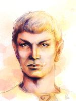 Sarek of Vulcan by h-e-r-b-a-t-a