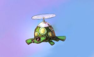 Tank the turtle by alexmakovsky