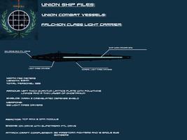 Falchion Class light carrier by EmperorMyric