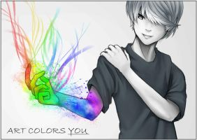 Art Colors You by VenomSpreadOut