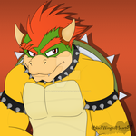 Bowser by BlackWingedHeart87