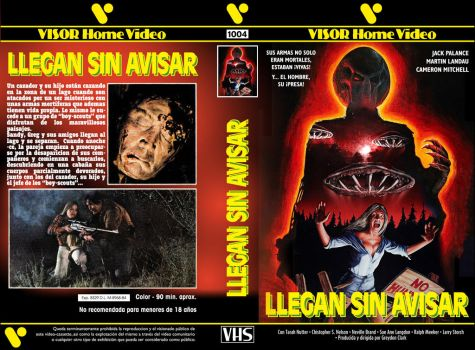 Without Warning (Spanish VHS cover) by repopo
