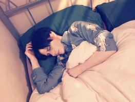 Sleepy heichou by silkybean