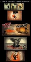 This is how Wesker gets....... by Thevakien
