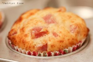 Ham and cheese muffin 2 by patchow
