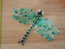 Beaded Dragonfly 2 by naztaz