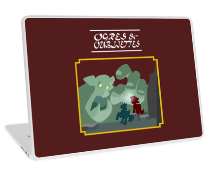 Ogres and Oubliettes - the Dungeon Master Screen by RiftwingDesigns