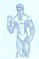 Hal Jordan Warm Up by JazzRy