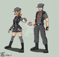Team Rocket's Grunt by AMBONE105