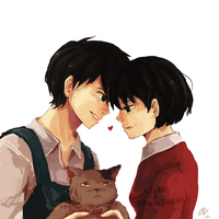 Collab: Whisper of the Heart [+Speedpaint] by IceLaws