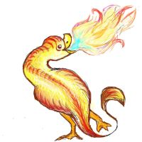 Fire Duck by AdmiralPastry