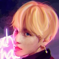 Taehyung (WINGS) by CMYKidd