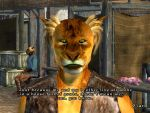 Dumbledore the Khajiit XD by NorroenDyrd