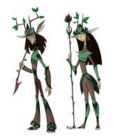 EWU Style Guide: Elves. by FingyTheTrickster